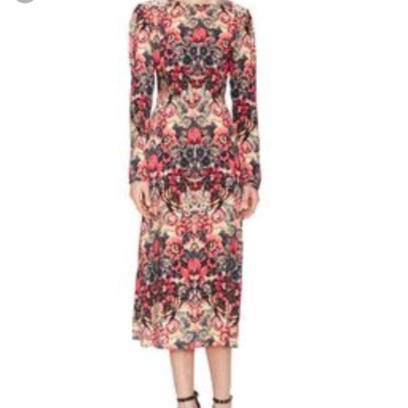 e2c3a7c8a7e4 Sam   Lavi Adelaide Keyhole Back Floral Dress. M 5b01d4768290af837357a1c0